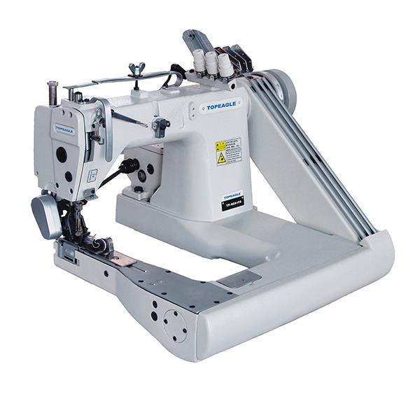 TF-928-PS High Speed 3-needle Feed-off-The-arm Sewing Machine with Gear-box Puller