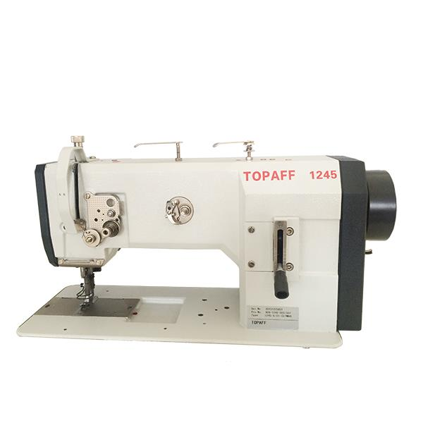 1245 / 1246 Single or Double Needle, Flat Bed, Drop Feed and Walking Foot, Needle Feed, Large Vertical Hook, Lockstitch Sewing Machine