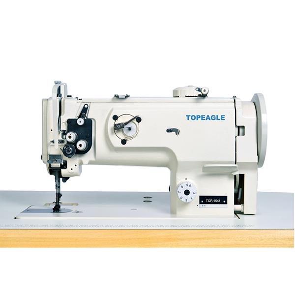 TCF-1541 Flat Bed,Single Needle,Walking Foot, Needle Feed Lockstitch Sewing Machine with Large Vertical Hook.