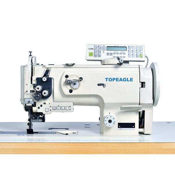 TCF-1510-VF Flat Bed, Single Needle,Compound Feed, Large Horizontal Hook Lockstitch Sewing Machine with Side Cutter