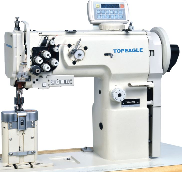 Tpb 1700 double needle compound feed extra thick thread post bed tpb 1700 post bed single or double needle compound feed sewing machine with horizontal ccuart Image collections