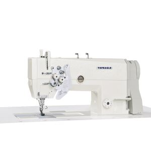 TD-875 2-Needle Large Hook Lockstitch Machine with Split Needle Bar