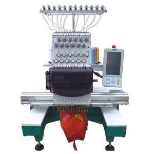 TEM-C901 Single Head 9 Needle Cap Embroidery Machine