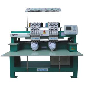TEM-C902 Double Head 9 Needle Cap Embroidery Machine