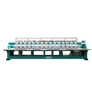 TEM-F915 Computerized Multi Head Flat Embroidery Machine