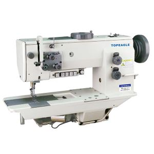 TCF-767 Flat Bed, Drop Feed, Walking Foot Needle Feed Lockstitch Sewing Machine for Upholstery