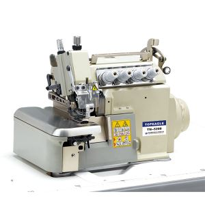 TN-5200T(D) Flat Bed Super High Speed (Direct-drive) Variable Top Feed Overlock Sewing Machine