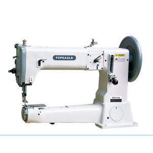 TCB-441 Single Needle, Cylinder Bed, Compound Feed, Semi-Long Arm, Extra Heavy Duty Sewing Machine