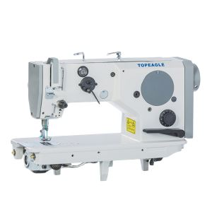 LZH-527 Flat Bed Medium Heavy Duty Patterns Zigzag Lockstitch Sewing Machine (Changing Cam)