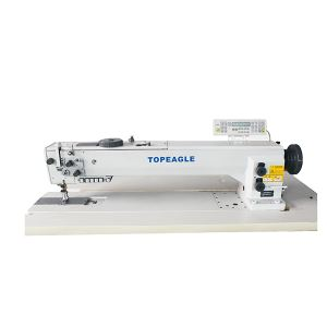 TCF-767-30 Flat Bed, Drop Feed, Walking Foot, Needle Feed Lockstitch Long Arm Sewing Machine
