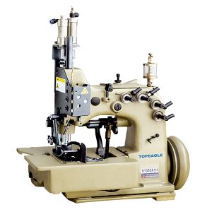 81300A1H Double Needle Four Thread Top and Bottom Feed Overlock Sewing Machine