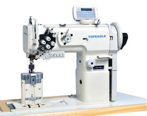 TPB-1710/ 1760 Post-bed Single Or Double Needle Compound Feed Sewing Machine With Horizontal Large H