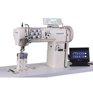 TPB-550-1780 Post Bed Double Needle Compound Feed Ornamental Stitch Sewing Machine