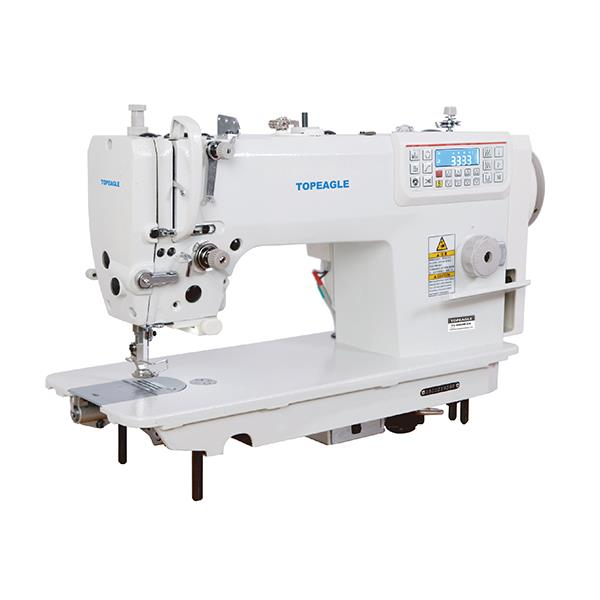 TC-6960M-D4 Direct-drive High Speed Needle Feed Lockstitch Sewing Machine With Auto Thread Trimmer