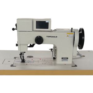 TCF-550-2045 Flat Bed Double Needle Walking Foot Computer Controlled Ornamental Stitching Machine
