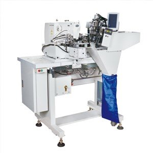 Double Needle Automatic Belt Loop Machine
